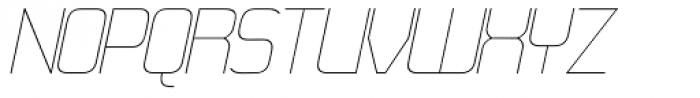 21st SuperFine Italic Font UPPERCASE