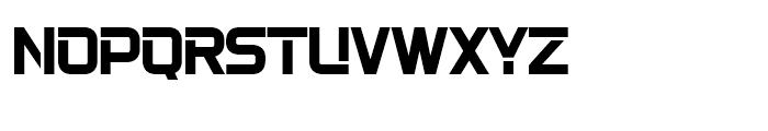 22nd Open Bold Font UPPERCASE