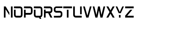 22nd Open Light Font UPPERCASE