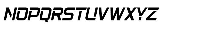 22nd Open Oblique Font UPPERCASE