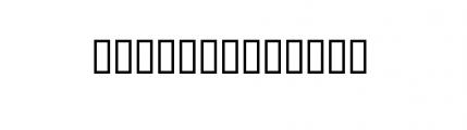 22nd Closed Light Oblique Font UPPERCASE