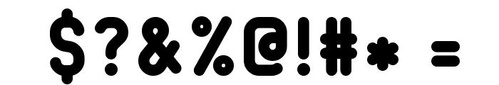 232MKSDRoundBold Font OTHER CHARS