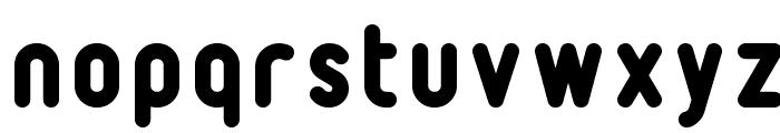 232MKSDRoundBold Font LOWERCASE