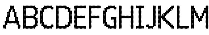 24 LED Bright Font UPPERCASE