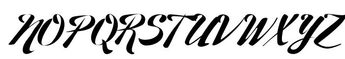 27th RPS Regular Font UPPERCASE