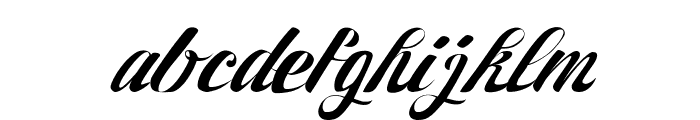 27th RPS Regular Font LOWERCASE