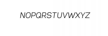 2NeutralGrotesk-ExtraLightItalic.ttf Font UPPERCASE