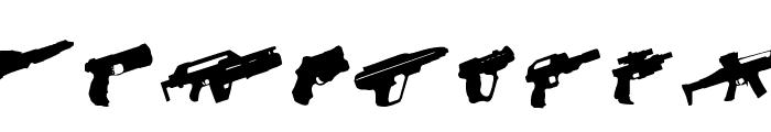 2nd Amendment 2050 Rotated Font LOWERCASE