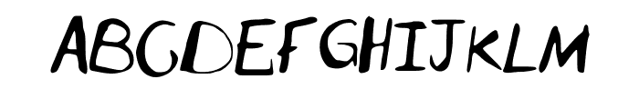 2nd_Attempt Font UPPERCASE