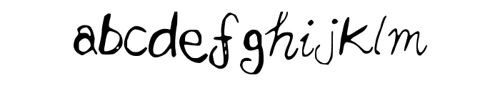 2nd_Attempt Font LOWERCASE