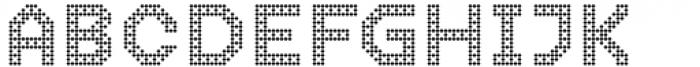 2nd Dance Floor Modern Tiles Font UPPERCASE