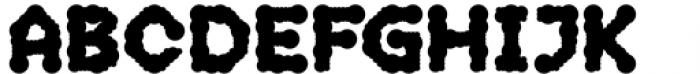 2nd Dance Floor Sprayed Font UPPERCASE