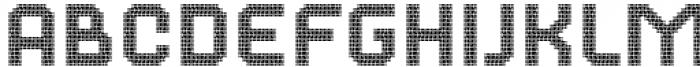 2nd Dance Floor Tessels Font LOWERCASE