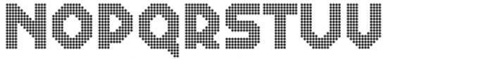 2nd Dance Floor Tiles Font UPPERCASE