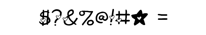 2Peas Heart's Delight Font OTHER CHARS