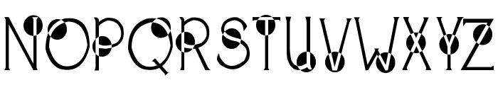 2Peas Spazbucket Font UPPERCASE