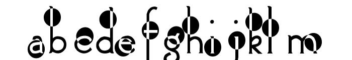 2Peas Spazbucket Font LOWERCASE