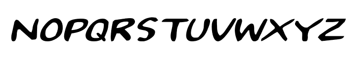 2Toon Expanded Italic Font UPPERCASE