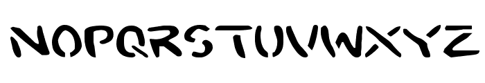 2Toon Expanded Font LOWERCASE