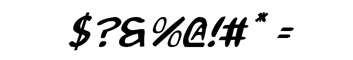 2Toon Italic Font OTHER CHARS