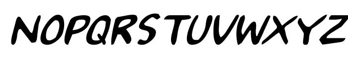 2Toon Italic Font UPPERCASE