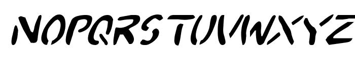 2Toon Italic Font LOWERCASE