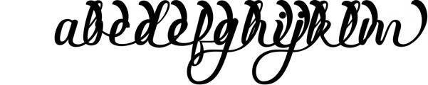 3 in 1 Premium script font 4 Font LOWERCASE