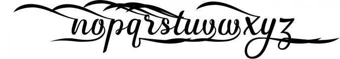 3 in 1 Premium script font 6 Font LOWERCASE