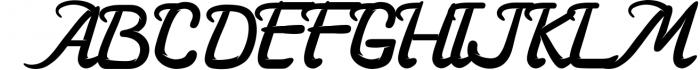 3 in 1 Premium script font 7 Font UPPERCASE