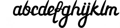 3 in 1 Premium script font 7 Font LOWERCASE