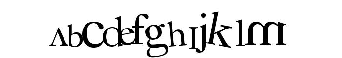 3 grammes 5 Font UPPERCASE