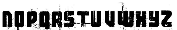 3 theHard way RMX-Regular DEMO Font UPPERCASE