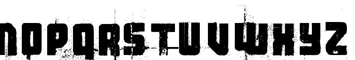 3 theHard way RMXfenotype Font UPPERCASE