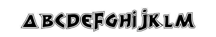 300 Trojans Greco Font UPPERCASE