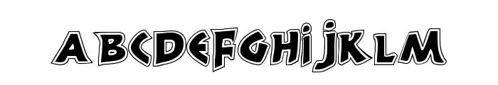 300 Trojans Greco Font LOWERCASE