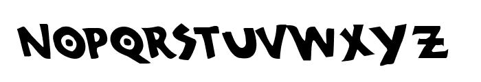 300 Trojans Leftalic Font UPPERCASE