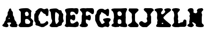 3000 Font UPPERCASE