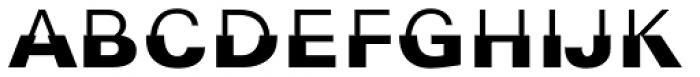 314 bits Regular Font UPPERCASE
