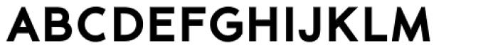 35-FTR Extra Bold Font UPPERCASE