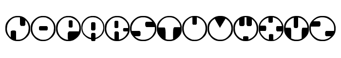 360 Font UPPERCASE