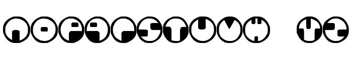 360 Font LOWERCASE