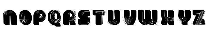 3D Models Regular Font UPPERCASE