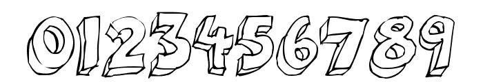 3Dumb Pro Font OTHER CHARS