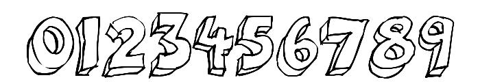 3Dumb Font OTHER CHARS