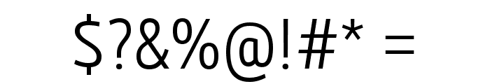 3ds-CondensedLight Font OTHER CHARS