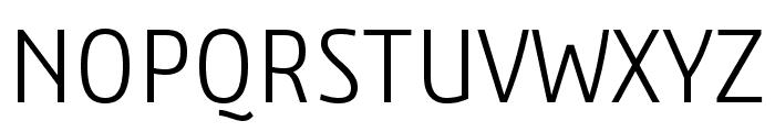 3ds-CondensedLight Font UPPERCASE