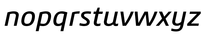 3ds-Italic Font LOWERCASE