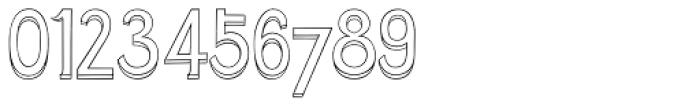3D Cursive Font OTHER CHARS