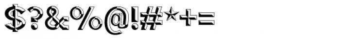3D Fantablock Beveled Font OTHER CHARS