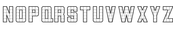3x5  Outline Font UPPERCASE